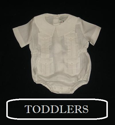Guayabera Baby or Toddler